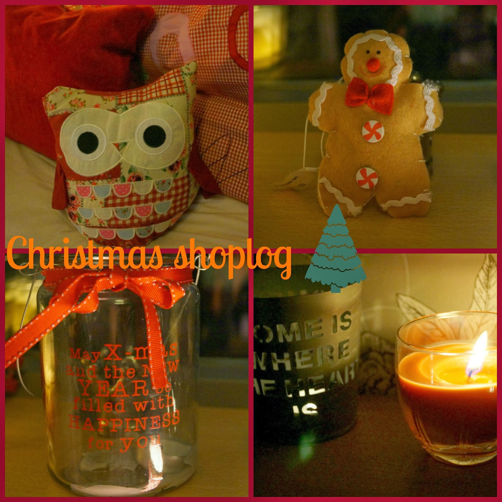 Shoplog; christmas shopping! Let it snow #4