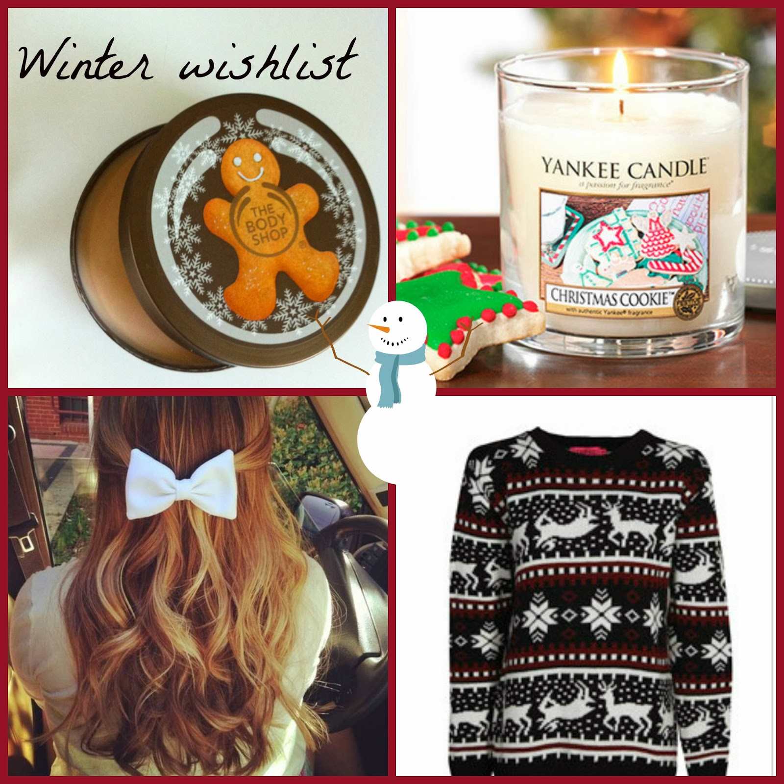 Wishlist winter. – Let it snow #1