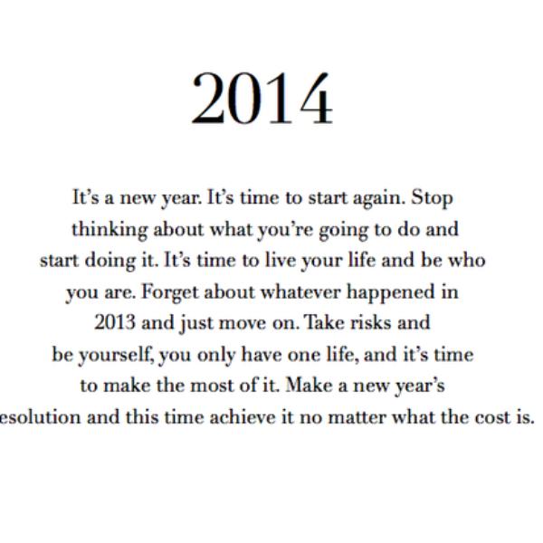 Mijn toppunten van 2013, goeie voornemens, en een happy new year!