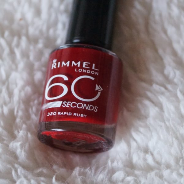Review: Rimmel london, 60 seconds.