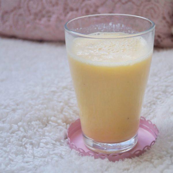 Recept: Banaan – Sinaasappel smoothie.