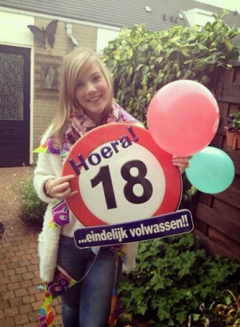 18 jarige…. BIRTHDAY GIRL!