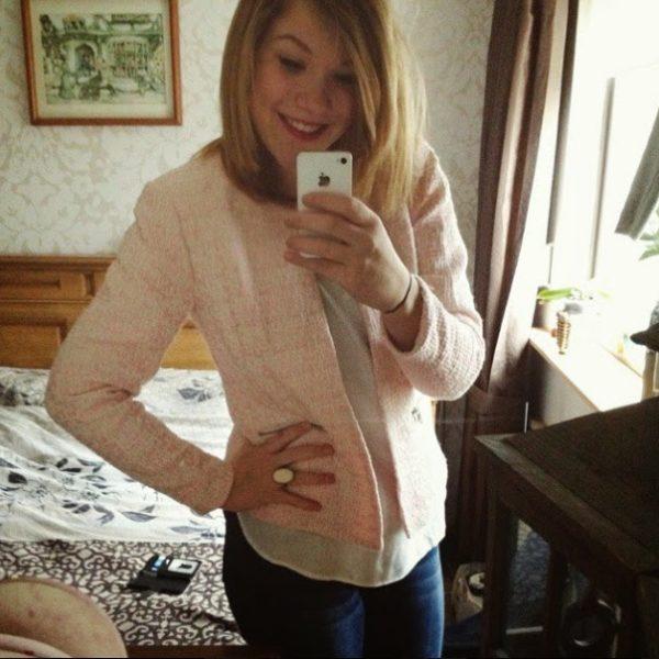 New in: Lente jasje van de Vero Moda!  ✿