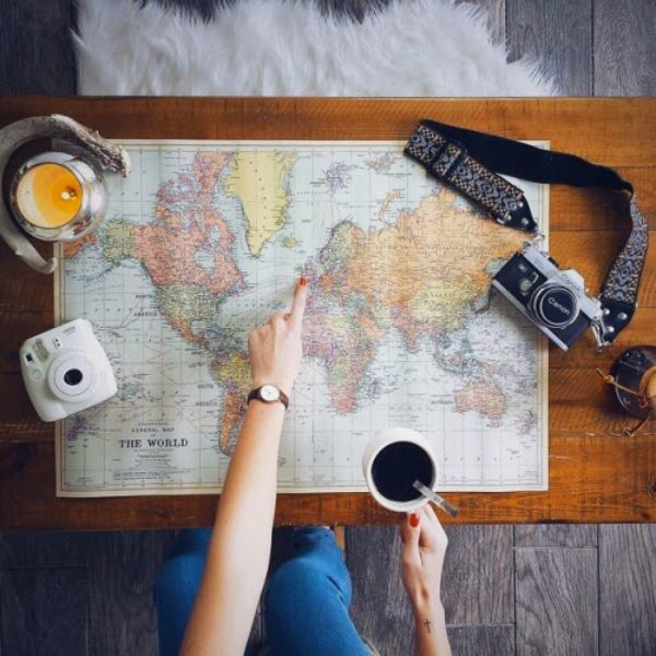 World map – Inspiration.