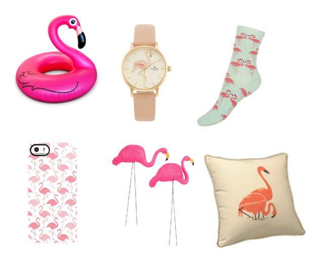 Overal flamingo's!