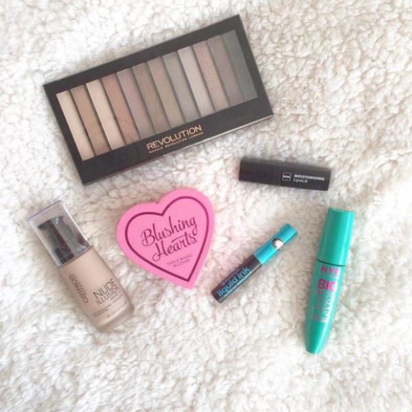 Mijn dagelijkse make-up producten.