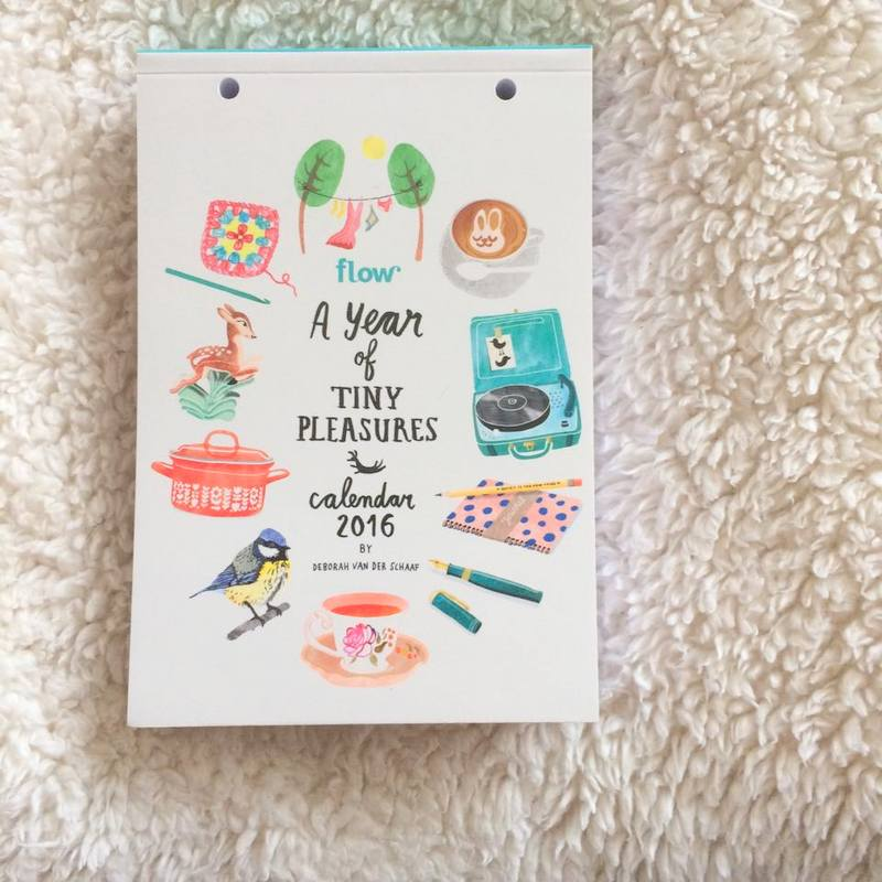 Flow kalender | A year of tiny pleasures + abonnement op flow!