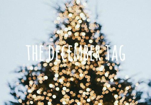 De december TAG! ☃