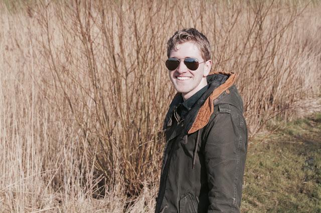 Mannen outfit | Mike zijn nieuwe zonnebril!
