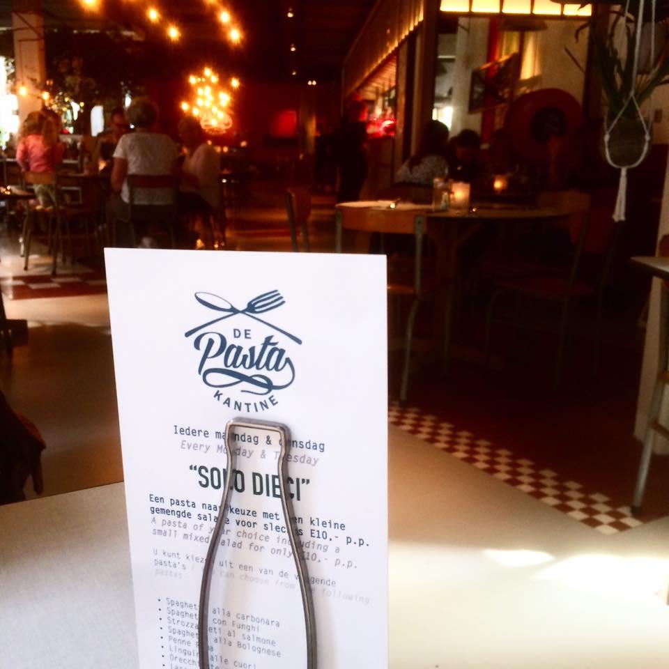 Hotspot | Pasta kantine Breda!
