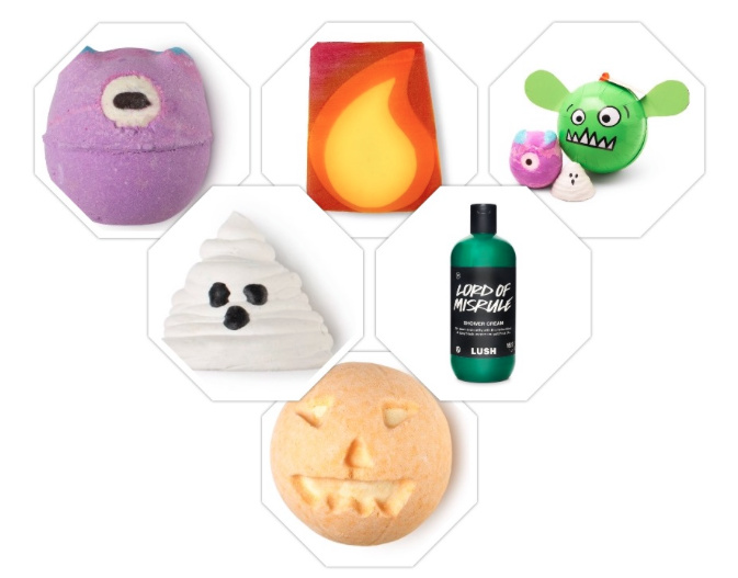 Lush halloween collectie 2016