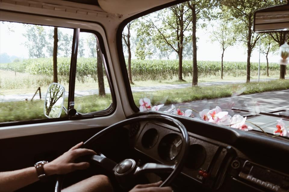 Roadtrippen met een ouderwets volkswagenbusje!