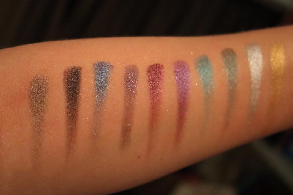 Review | Urban Decay Heavy Metals eyeshadow palette limited edition
