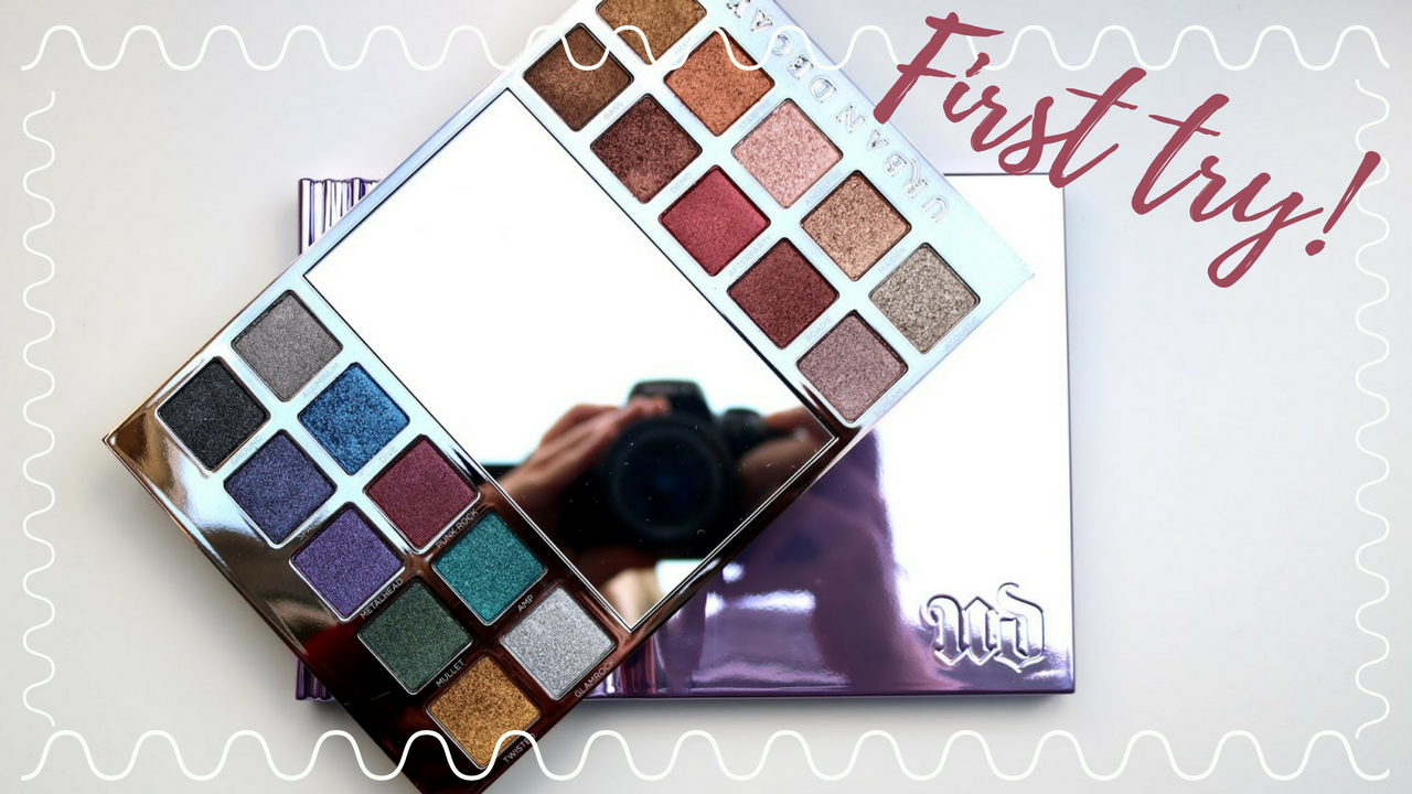 Video | Urban Decay Heavy Metals eyeshadow palette | First try!