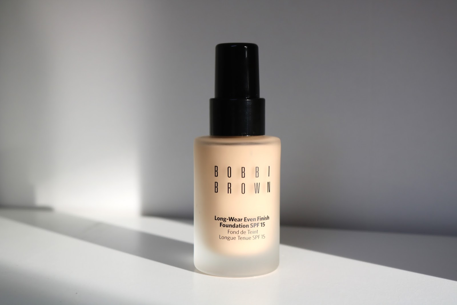 Review | Bobbi brown Long-Wear Even Finish foundation SPF 15
