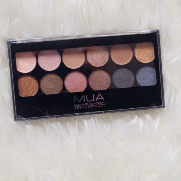 Review: MUA undressed pallet.