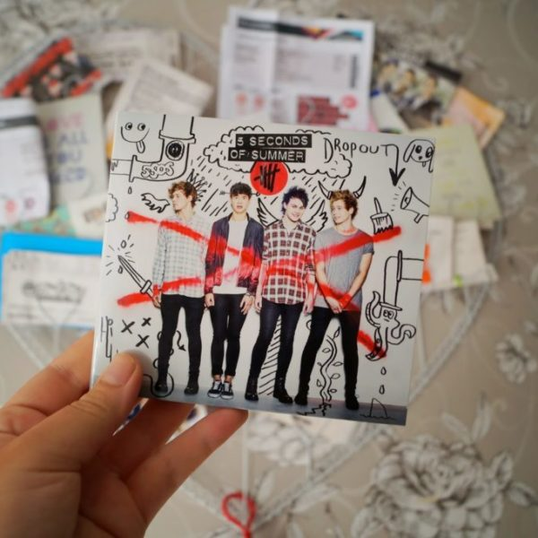 New in – 5 seconds of summer album.