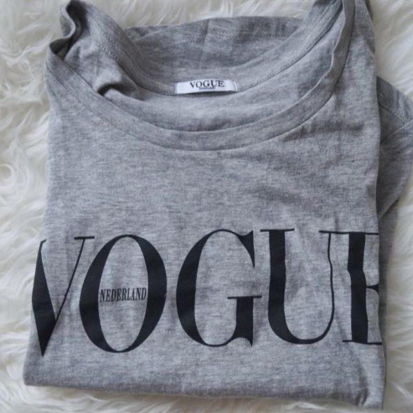 Tip: Gratis t-shirt bij de vogue!