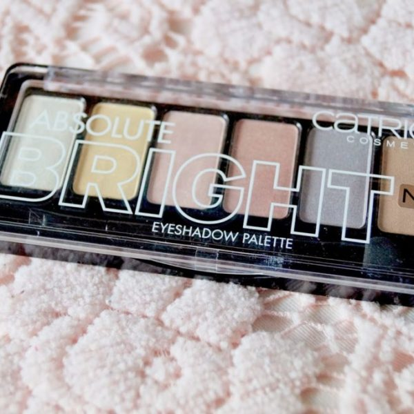 Review: Absolute bright pallet catrice.