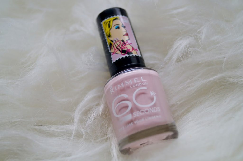 Rimmel London 50 seconds rita ora nagellak, baby roze!