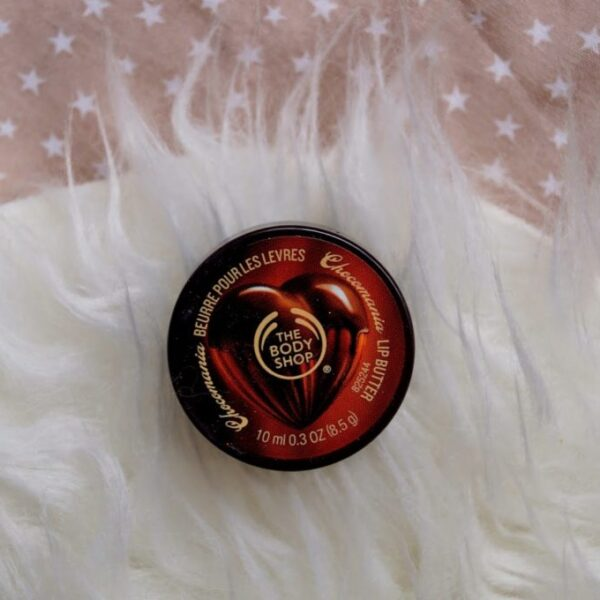 Review: The bodyshop chocolade lipbutter.