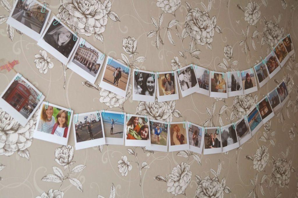 Polaroid foto's.