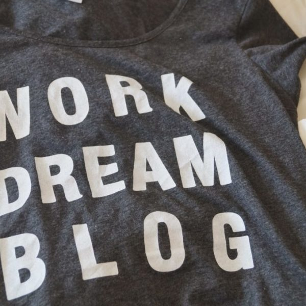Tip: Blog t-shirt!