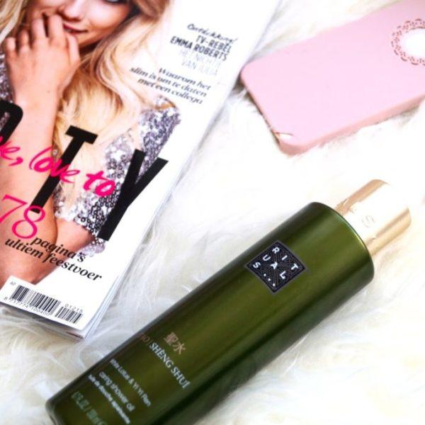 Review | Rituals sheng shui caring shower oil.