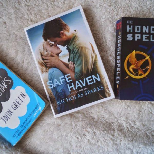 Mijn favoriete boeken top 3.