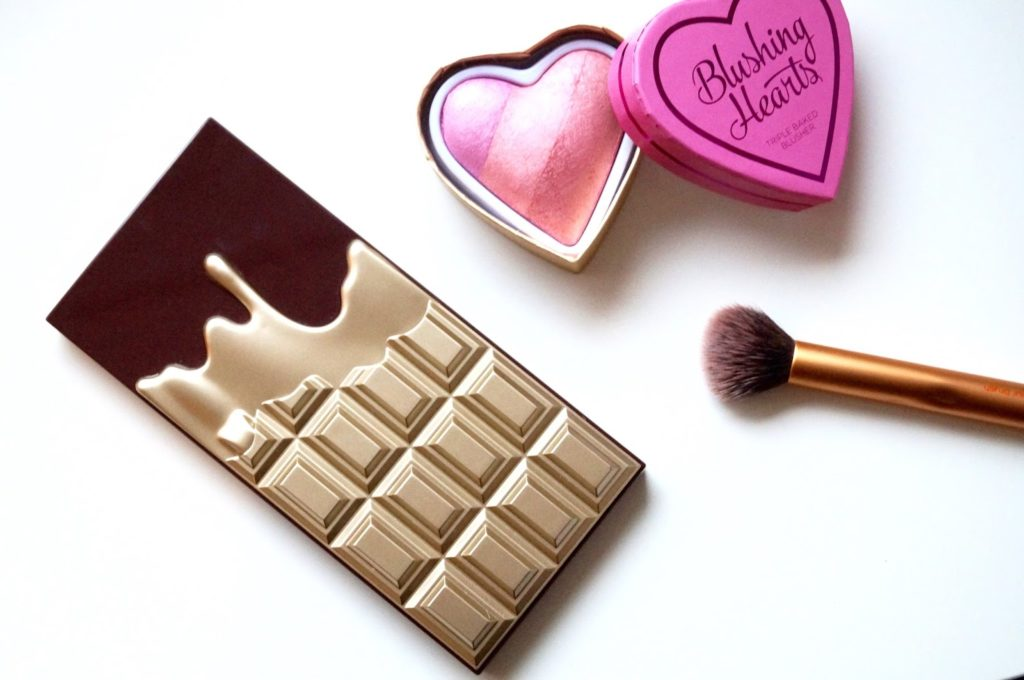 Review | I heart makeup – Golden bar eyeshadow pallet.