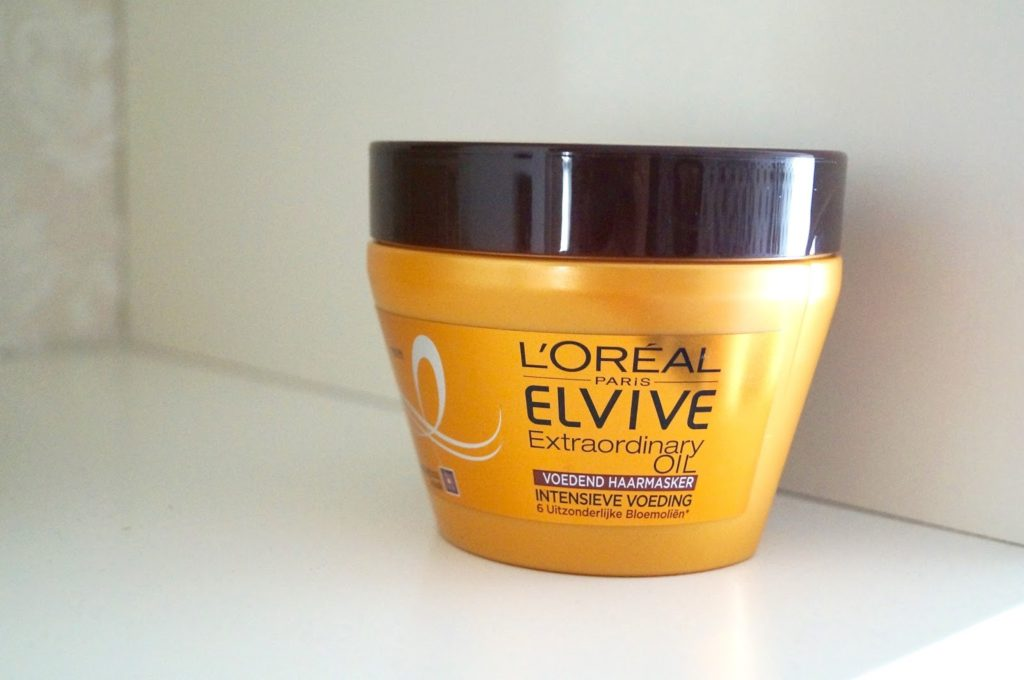 Review | L'oreal paris elvive extraordinary oil, voedend haarmasker.