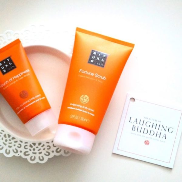 Review | Touch of happiness body cream & fortune scrub.