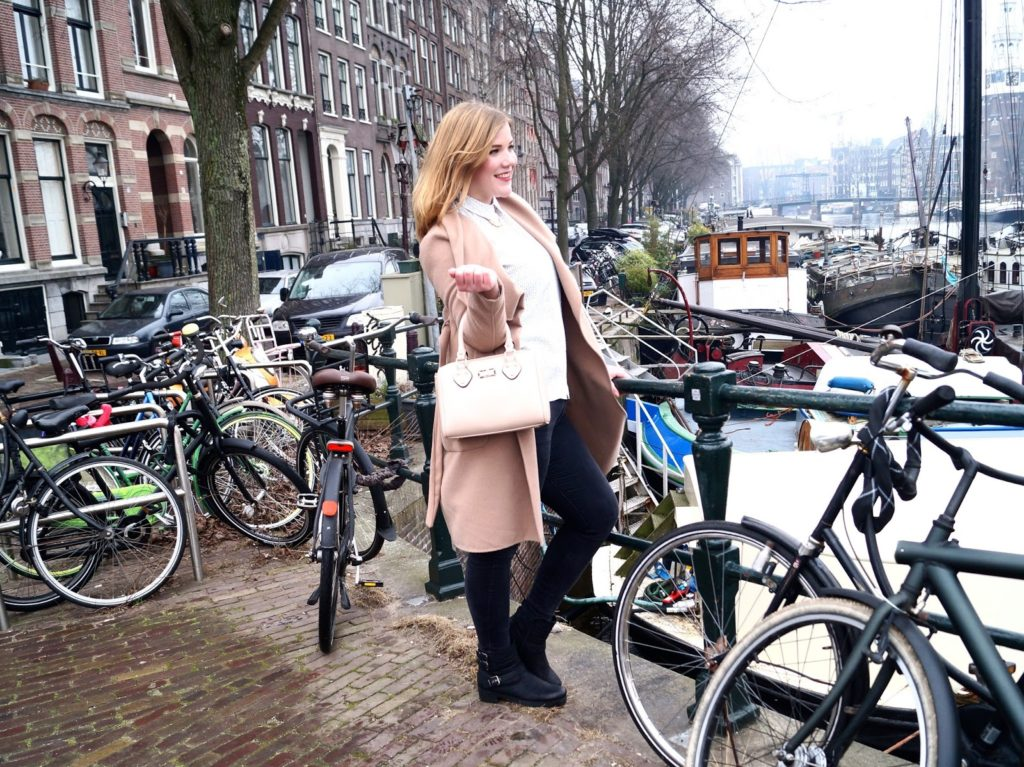 Cold winter days in Amsterdam