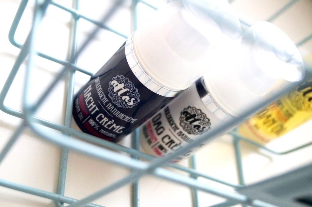Review | Natuurlijke producten, Atlas Argan pure arganolie, dagcrème & nachtcrème