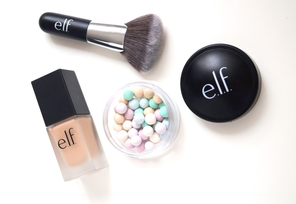 Review | e.l.f foundation, mineral pearls & blending brush