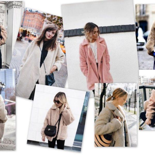 Fashion inspiratie | Teddy coats!