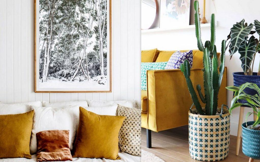 Interior inspiration | Okergeel combineren in je interieur