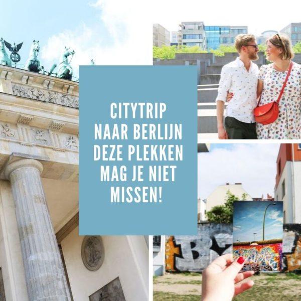 Citytrip naar Berlijn | Déze plekken mag je niet missen