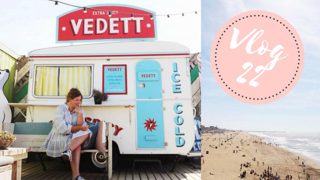 Vlog | Inschrijven bij de Kvk, Scheveningen & meeten met insta-babes! #21