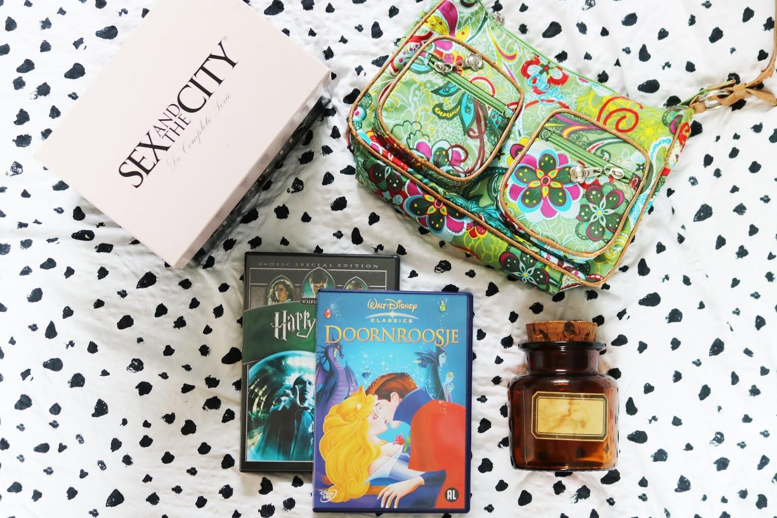 Vintage shopping | Disney, Oilily tas, en een serie box! #4