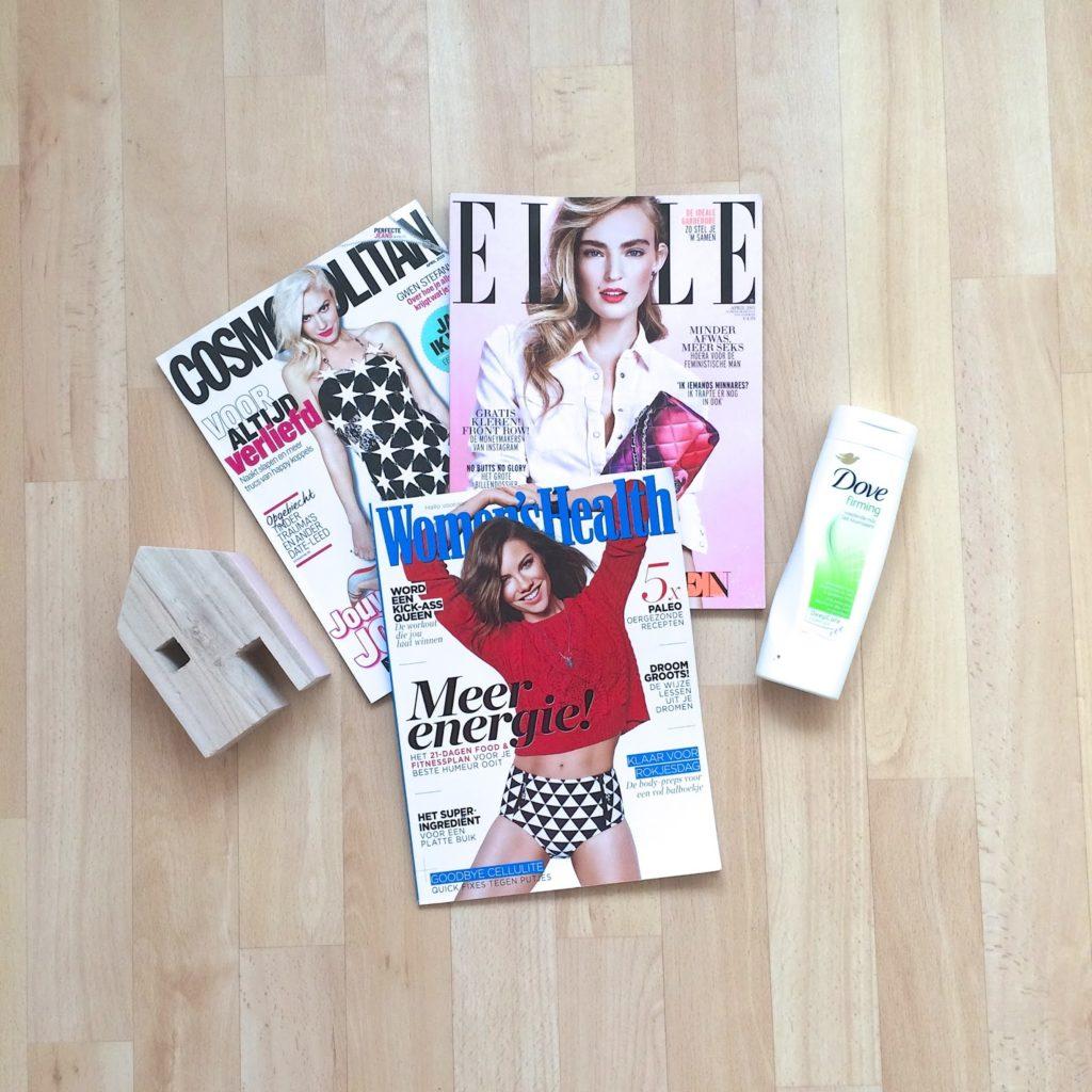 Tip: tijdschriften pakket voor 5 euro!