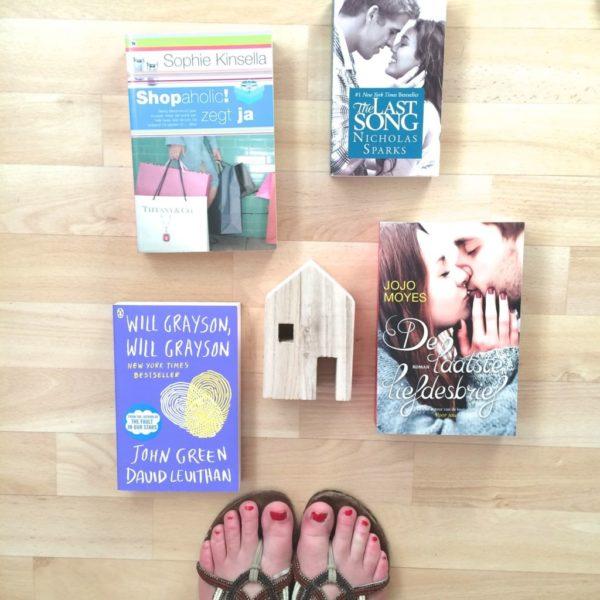 Boeken die op mijn leeslijstje staan!