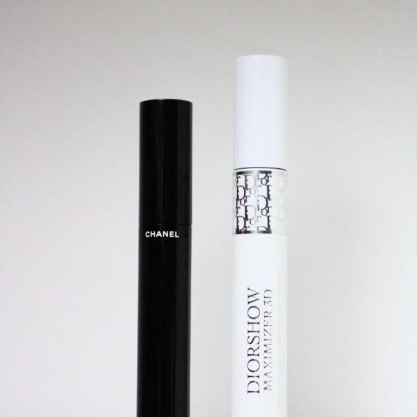 Review | Chanel le volume & Dior maximizer 3D mascara
