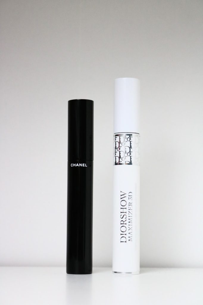 Review | Chanel le volume & Dior maximizer 3D mascara