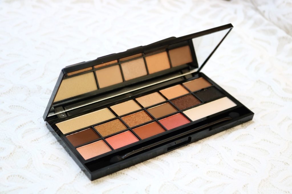 Review   I heart make-up chocolate vice