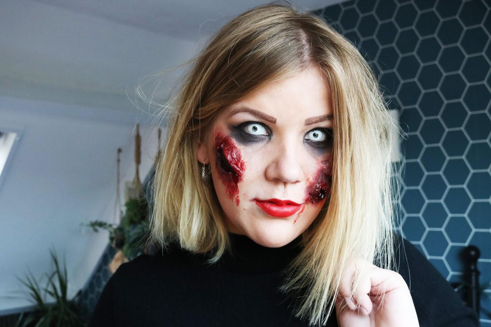 Mijn (zombie) Halloween look!