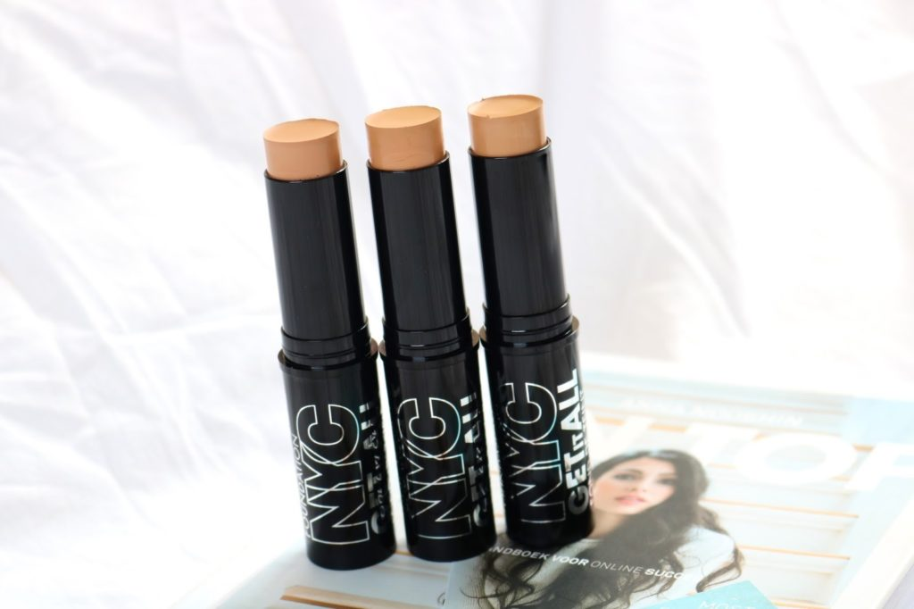 Review | NYC Get It All Foundation Sticks.