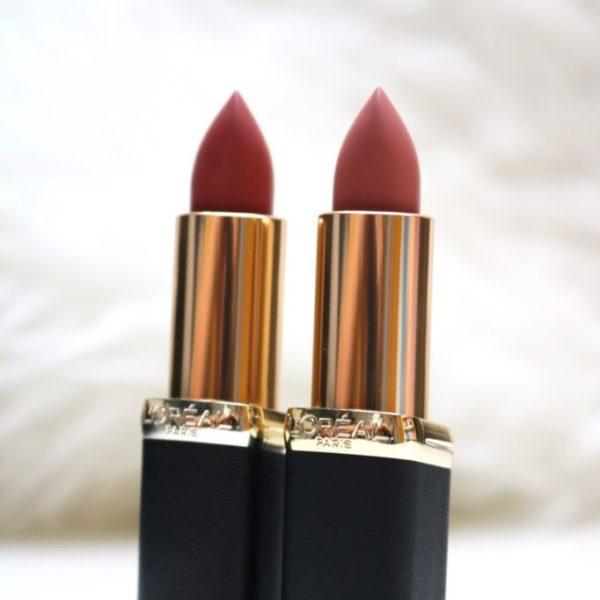 Review | L'Oréal Color Riche Matte Erotique & Moka Chic.