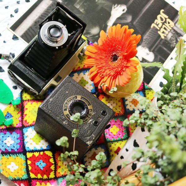 Vintage shopping!   Kingsday special, hobbelpaard, jaren 50 camera, en body positivity oorbellen! #3