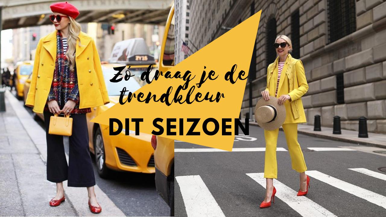 Trends | Zó draag je de trendkleur dit voorjaar!